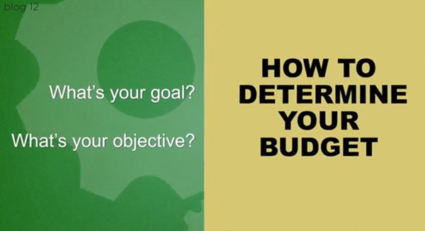 Establishing a budget for your video project